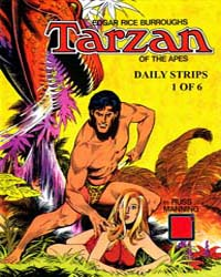 Tarzan Daily Strips: Russ Manning's Comp... by Manning, Russ
