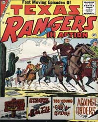Texas Rangers in Action: Issue 6 Volume Issue 6 by Charlton Comics