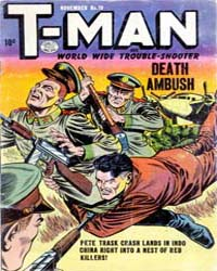 T-Man: Issue 19 Volume Issue 19 by Quality Comics