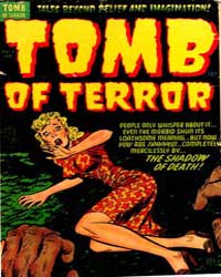 Tomb of Terror: Issue 7 Volume Issue 7 by Harvey Comics
