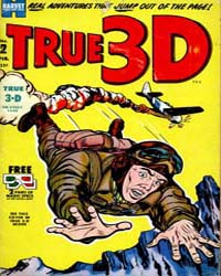 True 3-D: Issue 2 Volume Issue 2 by Harvey Comics