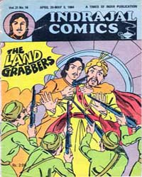 Bahadur : The Land Grabbers : Vol. 21, I... Volume Vol. 21, Issue 18 by Indrajal Comics