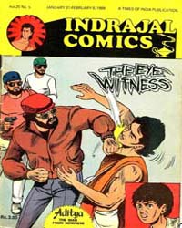 Aditya : The Eye Witness : Vol. 25, Issu... Volume Vol. 25, Issue 5 by Indrajal Comics