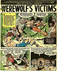 Mystic: The Werewolf's Victims: Issue 31 Volume Issue 31 by Check, Sid