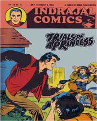 Lt. Drake : Trials of a Princess : Vol. ... Volume Vol. 20, Issue 31 by Indrajal Comics