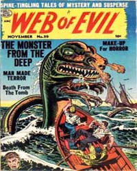 Web of Evil: Issue 20 Volume Issue 20 by Quality Comics