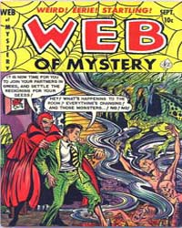 Web of Mystery: Issue 13 Volume Issue 13 by Ace Comics
