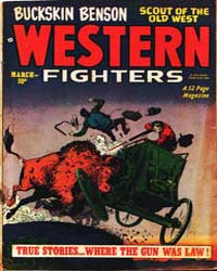 Western Fighters: Volume 3, Issue 4 by Hillman Periodicals