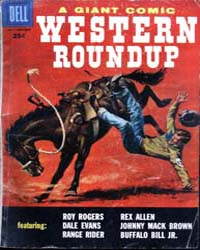 Western Roundup: Issue 19 Volume Issue 19 by Dell Comics
