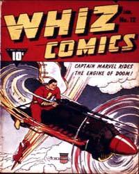 Whiz Comics: Issue 12 Volume Issue 12 by Fawcett Magazine