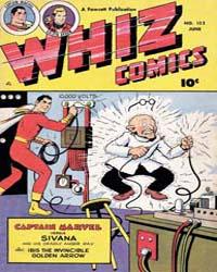 Whiz Comics: Issue 122 Volume Issue 122 by Fawcett Magazine
