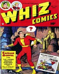 Whiz Comics: Issue 145 Volume Issue 145 by Fawcett Magazine