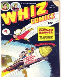 Whiz Comics: Issue 147 Volume Issue 147 by Fawcett Magazine