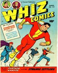 Whiz Comics: Issue 119 Volume Issue 119 by Fawcett Magazine