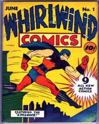 Whirlwind Comics: Issue 1 Volume Issue 1 by Holyoke Publishing