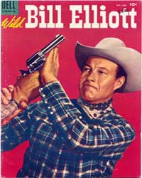 Wild Bill Elliott: Issue 15 Volume Issue 15 by Dell Comics