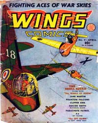 Wings Comics: Issue 8 Volume Issue 8 by Fiction House
