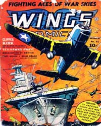 Wings Comics: Issue 31 Volume Issue 31 by Fiction House