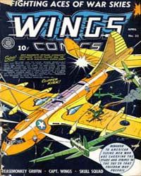 Wings Comics: Issue 32 Volume Issue 32 by Fiction House