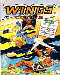 Wings Comics: Issue 85 Volume Issue 85 by Fiction House