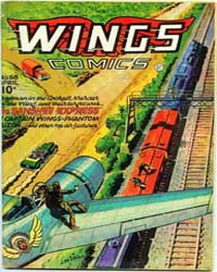 Wings Comics: Issue 68 Volume Issue 68 by Fiction House