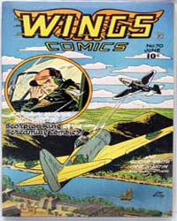 Wings Comics: Issue 70 Volume Issue 70 by Fiction House