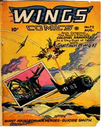 Wings Comics: Issue 72 Volume Issue 72 by Fiction House