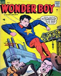Wonder Boy: Issue 17 Volume Issue 17 by Ajax-Farrel Publications
