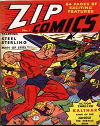 Zip Comics: Issue 1 Volume Issue 1 by Mlj/Archie Comics