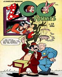 Zoo Funnies: Volume 1, Issue 11 by Charlton Comics