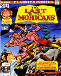 Last of the Mohicans : Issue 13 Volume Issue 13 by Marvel Comics