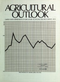 Agricultural Outlook : June 1975 Volume Issue June 1975 by Usda