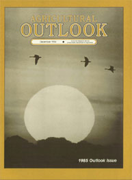 Agricultural Outlook : December 1984 Volume Issue December 1984 by Usda