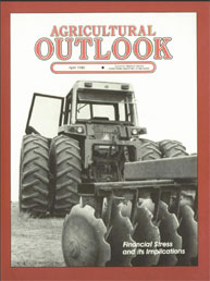 Agricultural Outlook : April 1985 Volume Issue April 1985 by Usda