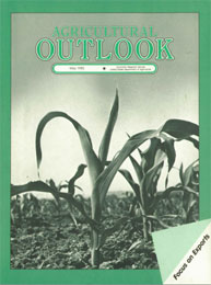 Agricultural Outlook : May 1985 Volume Issue May 1985 by Usda