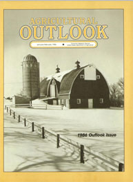 Agricultural Outlook : January-February ... Volume Issue January-February 1986 by Usda