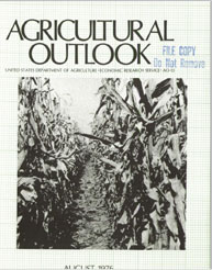 Agricultural Outlook : August 1976 Volume Issue August 1976 by Usda