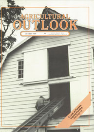 Agricultural Outlook : October 1989 Volume Issue October 1989 by Usda