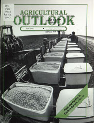 Agricultural Outlook : April 1990 Volume Issue April 1990 by Usda