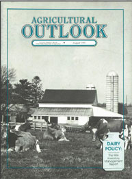 Agricultural Outlook : August 1991 Volume Issue August 1991 by Usda