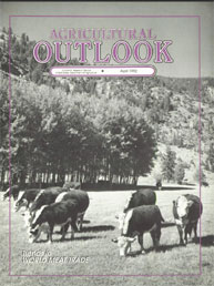 Agricultural Outlook : April 1992 Volume Issue April 1992 by Usda