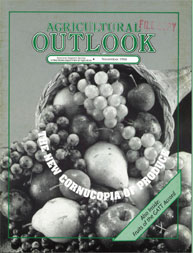 Agricultural Outlook : November 1994 Volume Issue November 1994 by Usda
