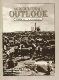 Agricultural Outlook : November 1982 Volume Issue November 1982 by Usda