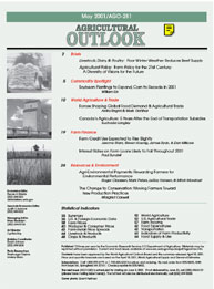 Agricultural Outlook : May 2001 Volume Issue May 2001 by Usda