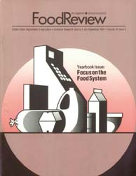 Food Review : 1991 Volume 14, Issue 03 1991 by Ott, Stephen L.