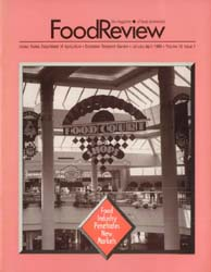 Food Review : 1993 Volume 16, Issue 01 1993 by Morrison, Rosanna Mentzer
