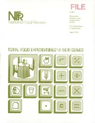 National Food Review : 1978 Volume Issue No. 1, 1978 by Morrison, Rosanna Mentzer
