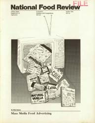 National Food Review : 1980 Volume Issue No. 9, 1980 by Morrison, Rosanna Mentzer