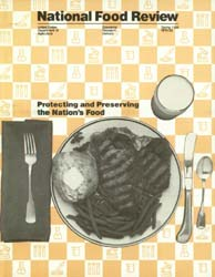 National Food Review : 1986 Volume Issue No. 33, 1986 by Morrison, Rosanna Mentzer