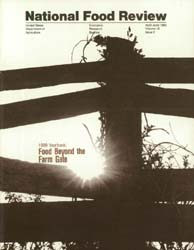 National Food Review : April-June 1989 Volume April-June 1989 by Morrison, Rosanna Mentzer